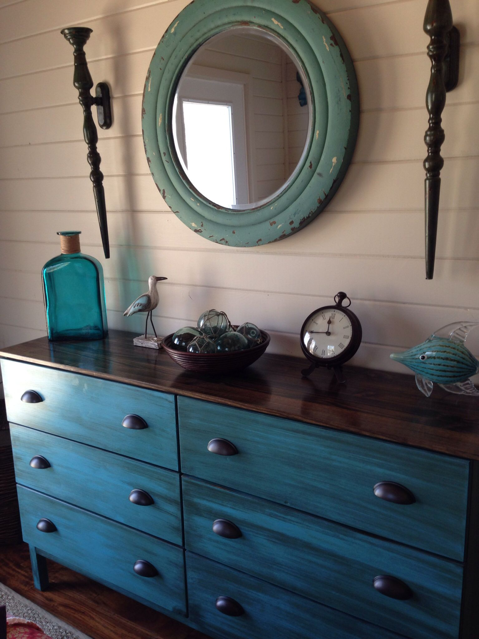My ikea tarva dresser makeover. | Lake House - Master bedroom ...