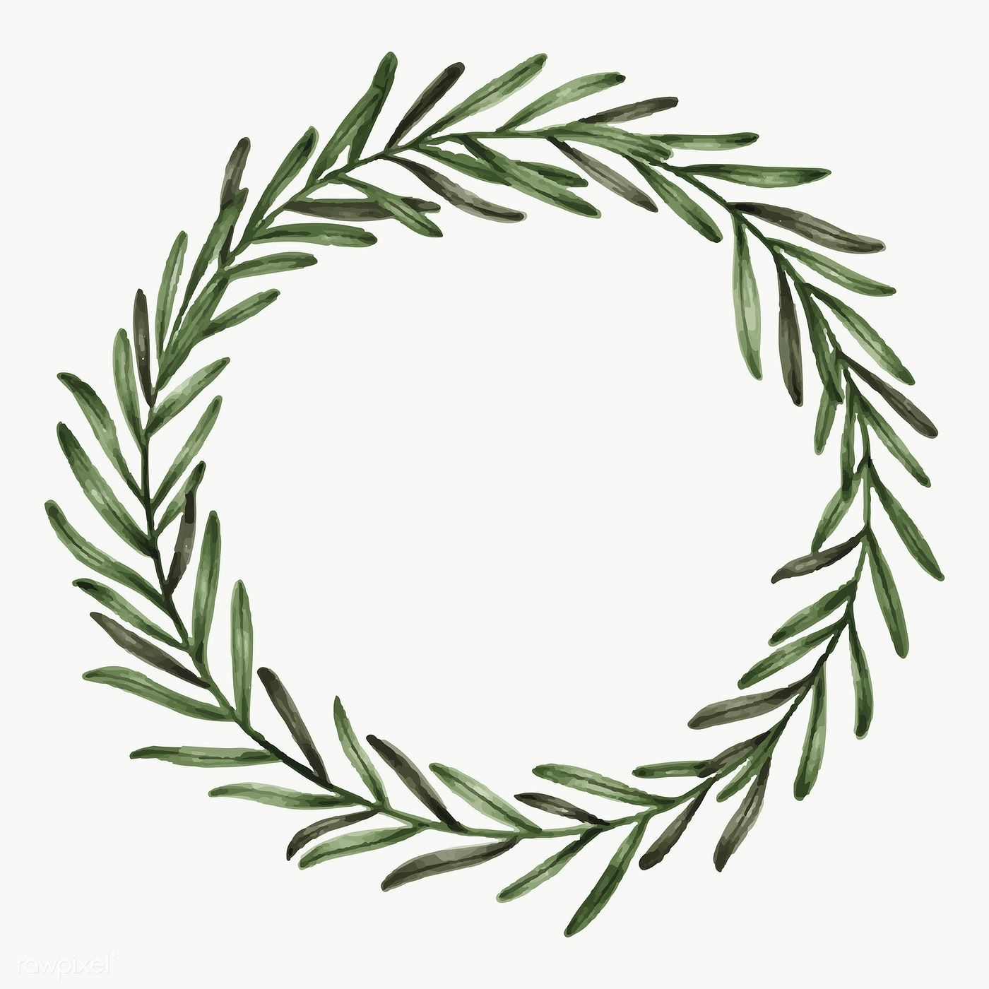 Photo of Download free PNG hand drawn eucalyptus wreath transparent PNG 2032864