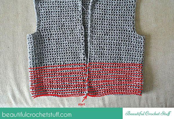Free Easy Crochet Vest Pattern Beautiful Crochet Stuff Crochet