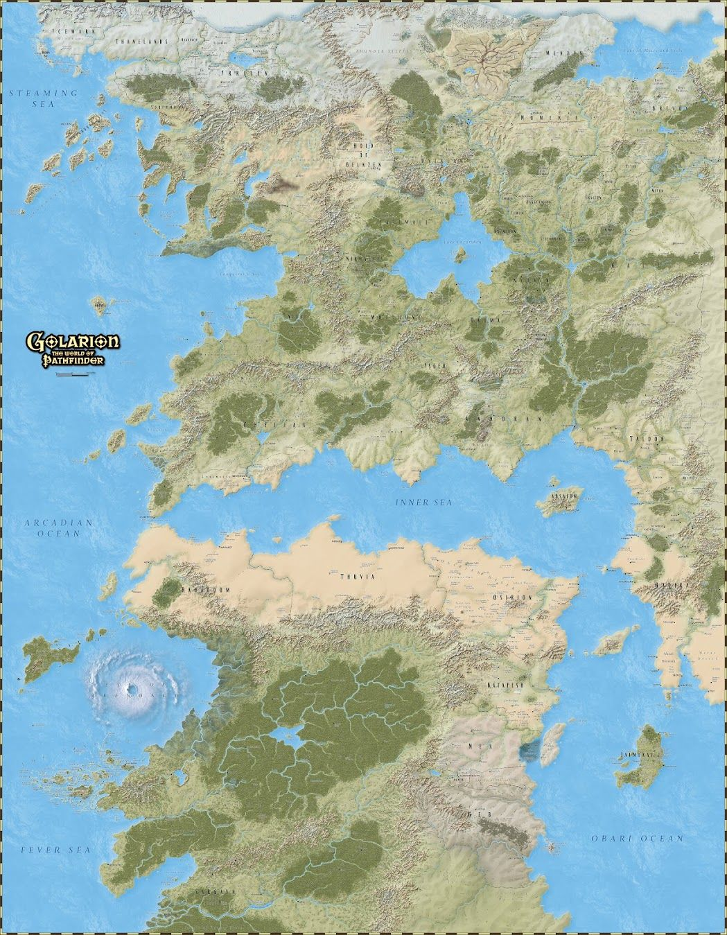 Golarion Map Pathfinder : golarion, pathfinder, Näytetään, Golarion_map_web.jpg, Poster,, Fantasy, World, Pathfinder