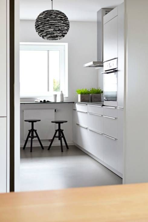 10 ideas para iluminar una cocina pequeña Estilo minimalista - cocinas pequeas minimalistas