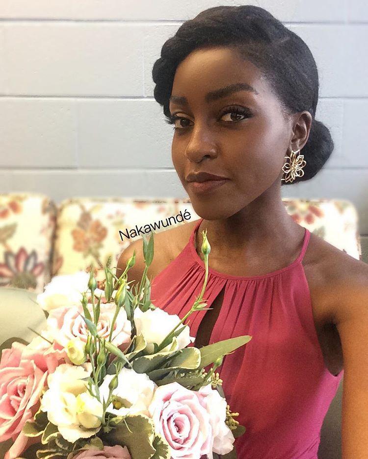 Natural Hair Content Creator Nakawunde Instagram Photos And Videos Natural Bridesmaid Hair Natural Hair Bride Natural Hair Styles