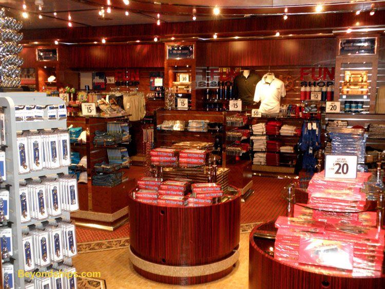 Shopping On The Dream Carnival Dream Pinterest Carnival - Cruise ship shops