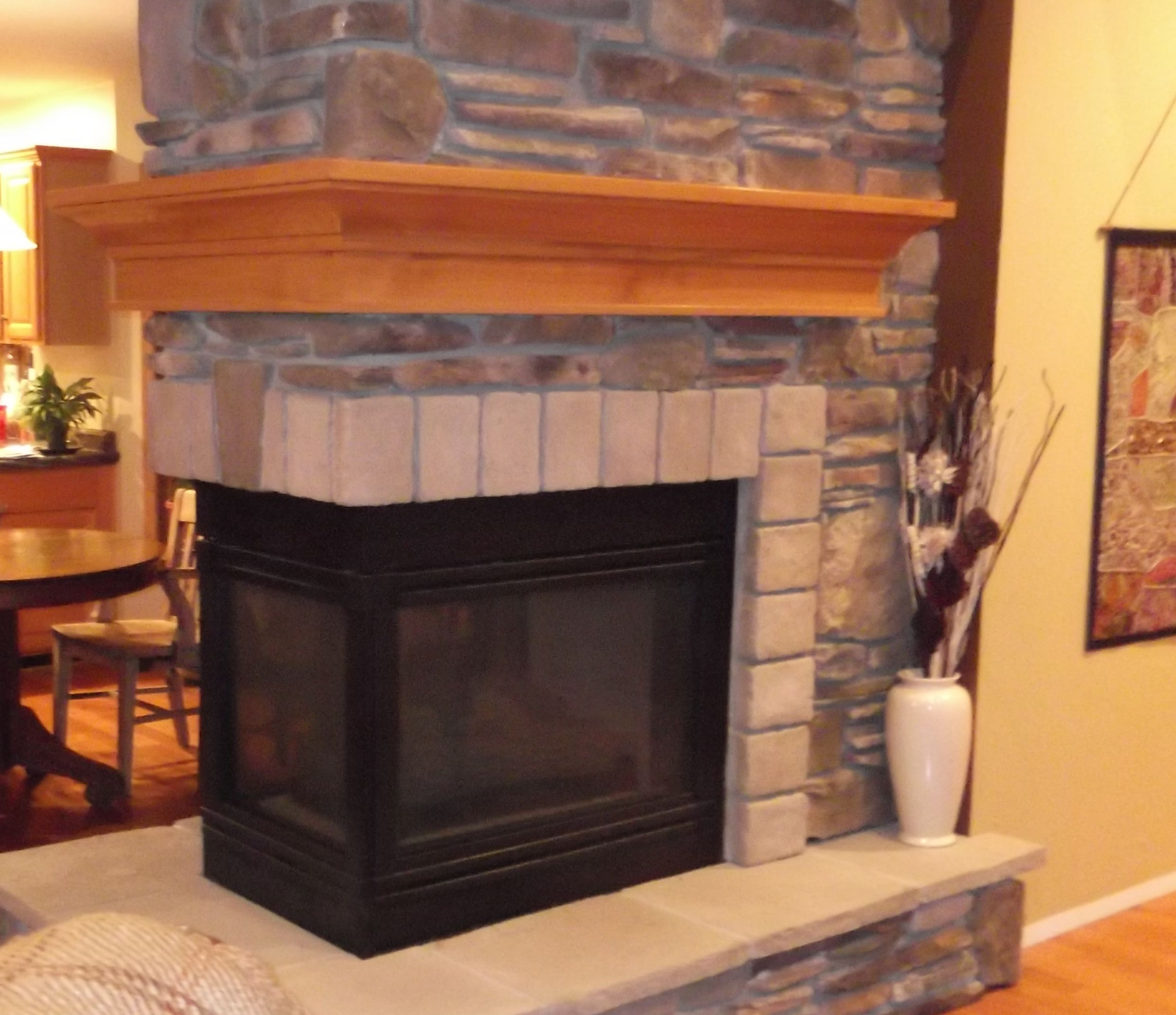 3 Sided Fireplace With Mantel Fireplace Mantels Build A Fireplace Fireplace Mantels For Sale