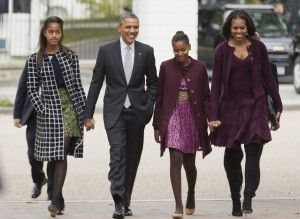 Obama Family - those boots, FLOTUS