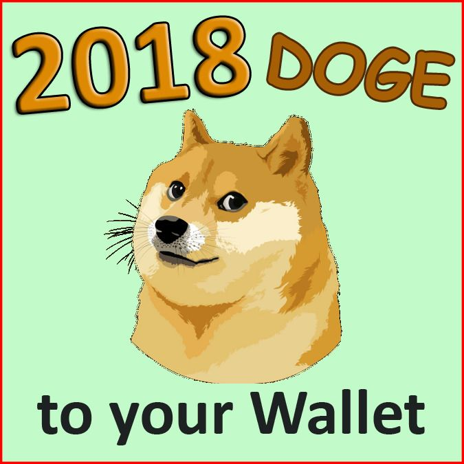 2018 Doge coin (DOGE) CRYPTO CURRENCY to your DogeCoin DOGE Wallet Dodge Walet on
