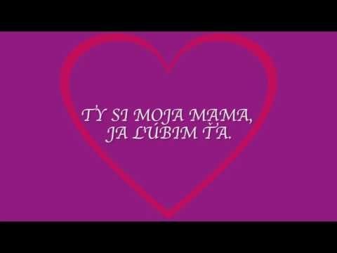 510cb1606 PATRIS deťom -Mama - YouTube   deň matiek   Deň matiek, Materská škôlka