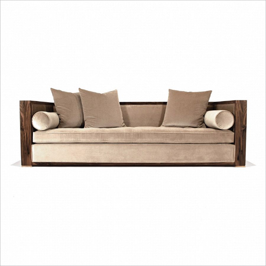 Divan Sofa Wood French Walnut Other Woods Foot Material