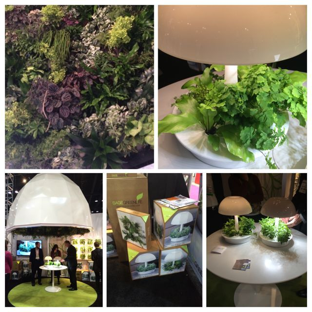 Sage Green Life Sage Vertical Garden Systems Housewares Show 15