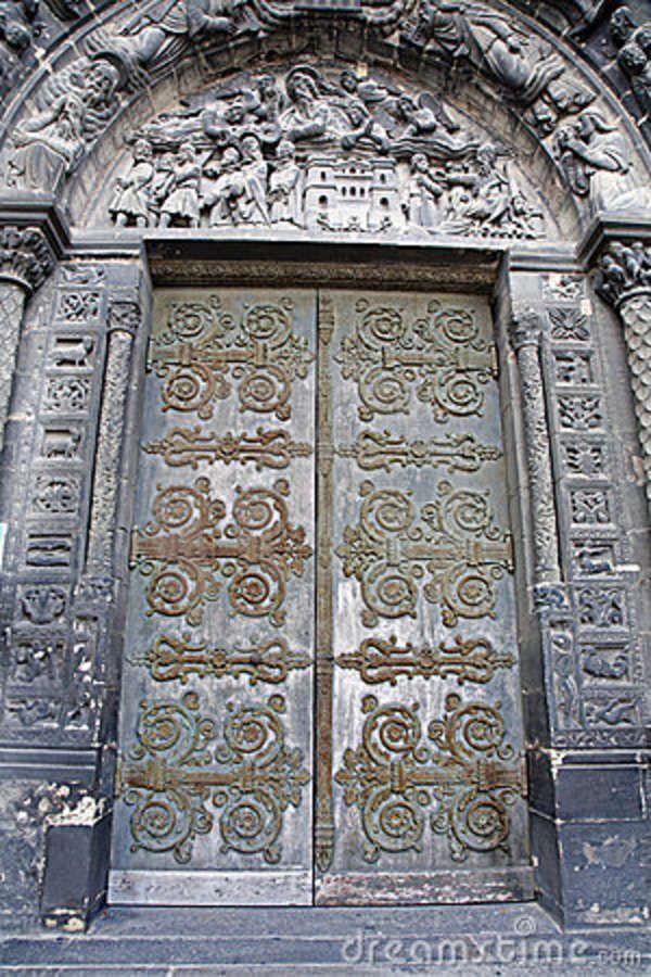 Paris Gate Of Saint Denis Cathedral Door Doors