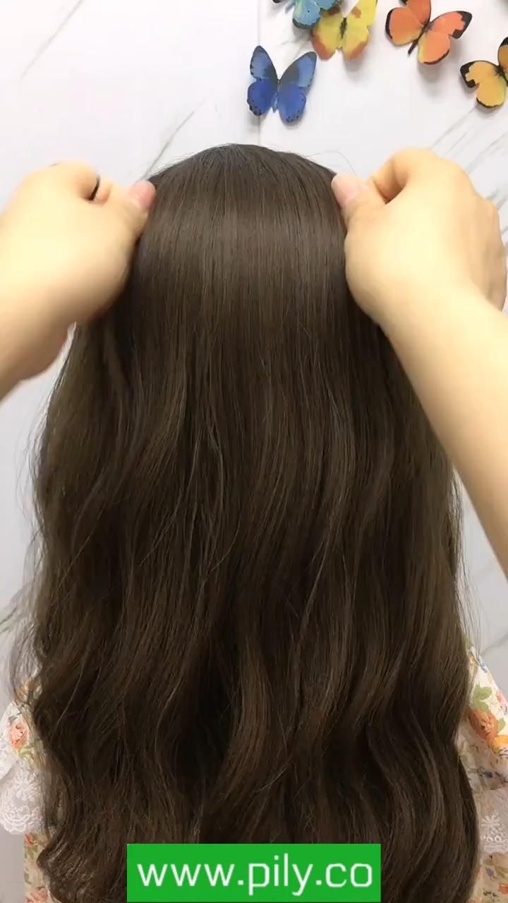 Braided Hair Tutorial Video In 2020 Hair Straightening Iron Hair Braided Hair Tutorial