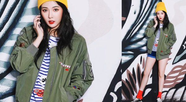Hyuna for CLRLDE.n 2016 S/S CAMPAIGN.