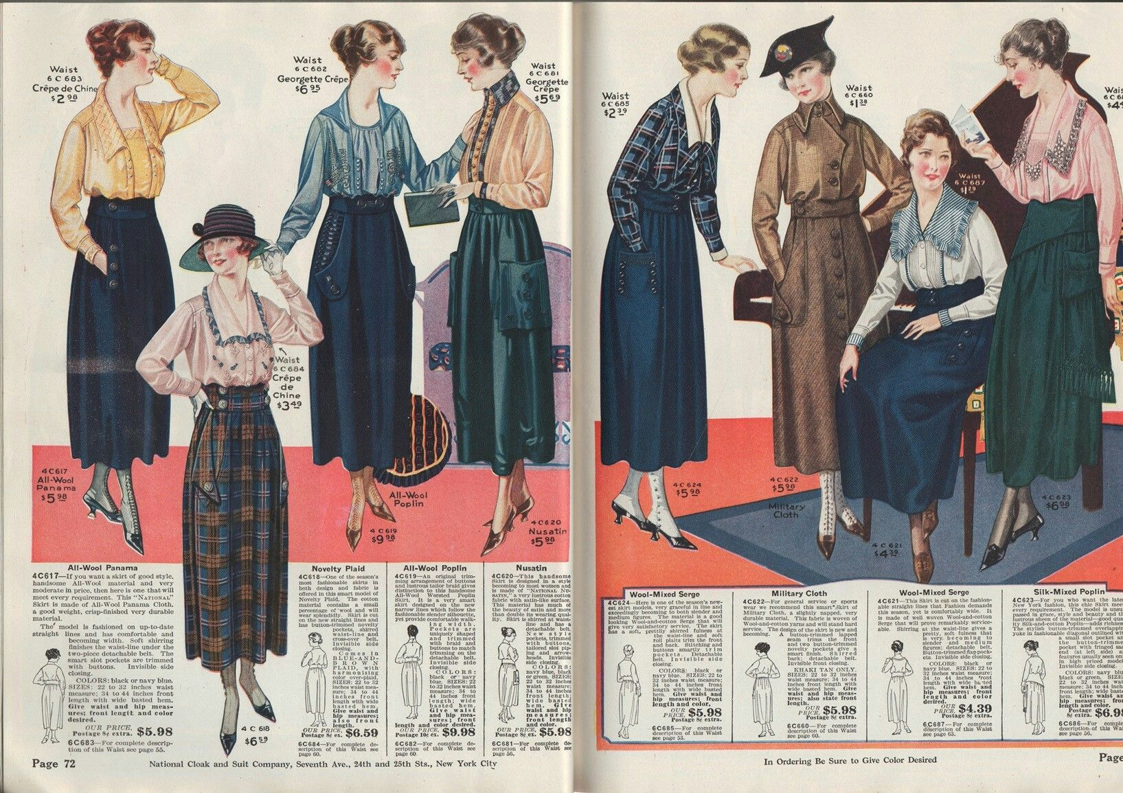 National Money Saving Style Book Fall/Winter 1918-1919