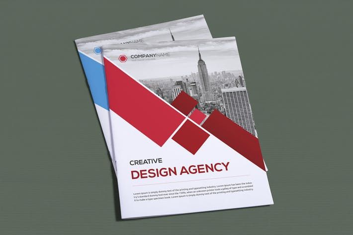 bifold brochure templates fully layered editable inches bleed area 6 vector eps files cmyk colors by todorovic designs