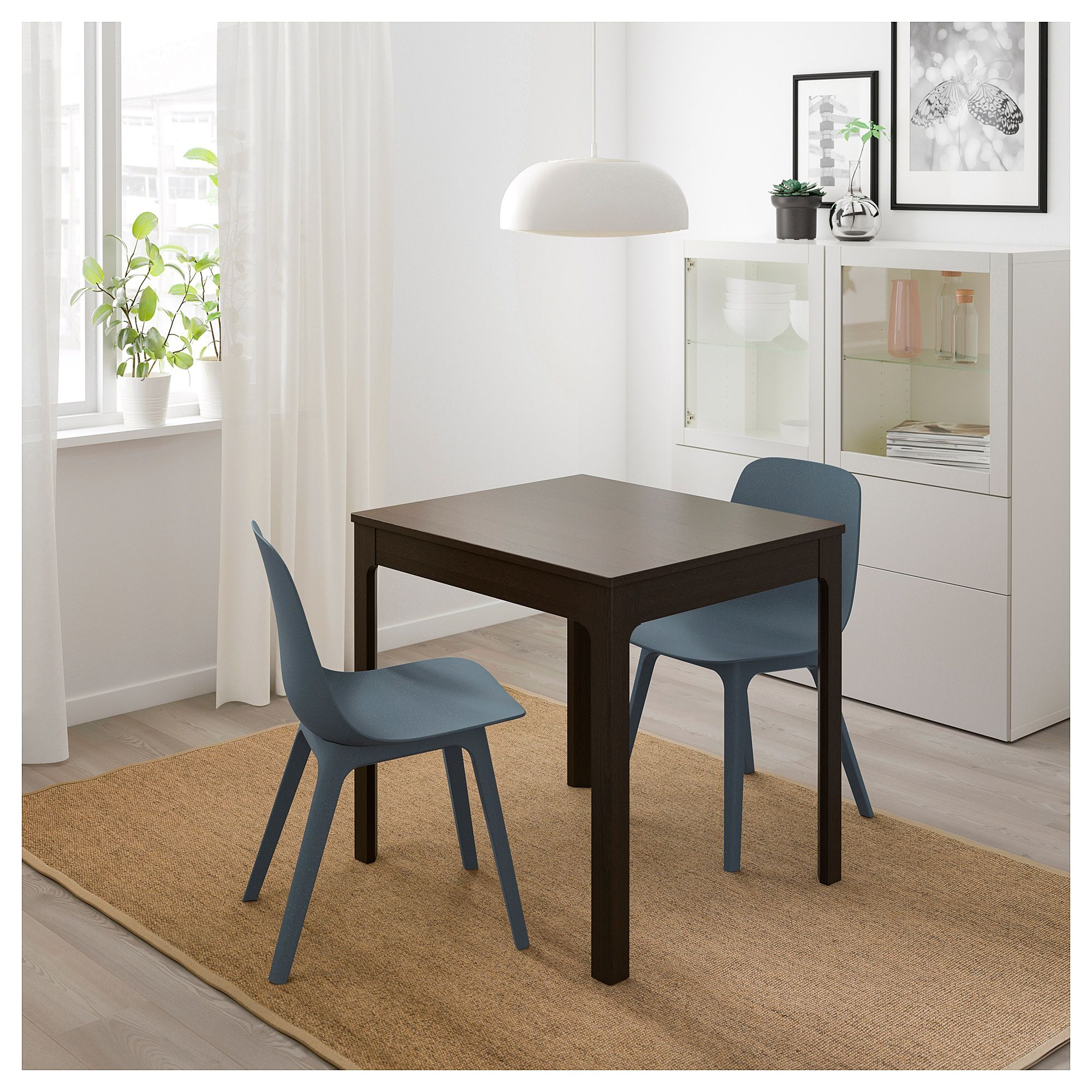 Ikea Ekedalen Extendable Table Dark Brown Products Ikea