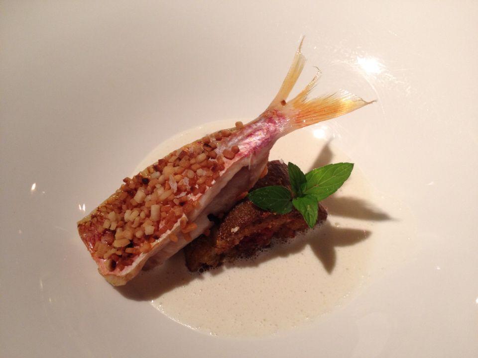 La triglia secondo chef antonino cannavacciuolo dalla cucina di villa crespi cooking class - Libro cucina cannavacciuolo ...