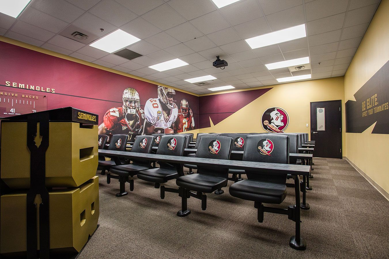Florida State University Football Meeting Rooms With Images