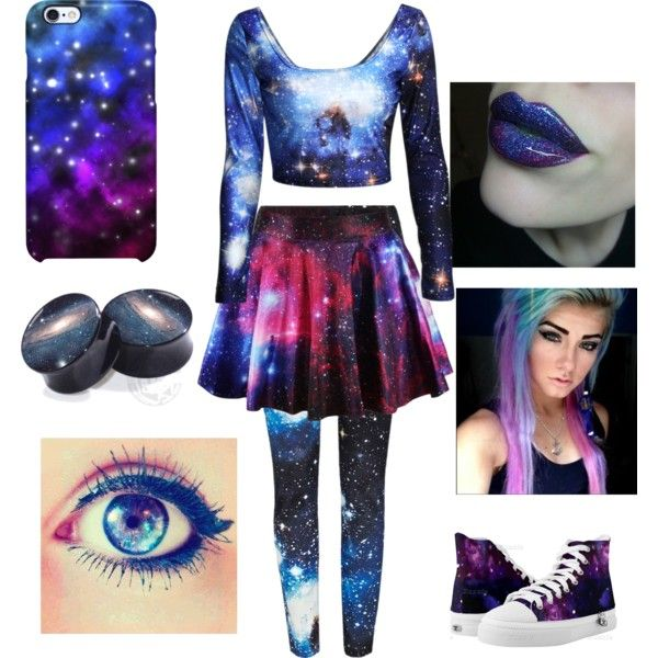 colors of the night by faithdeer on Polyvore featuring River Island and Uncommon