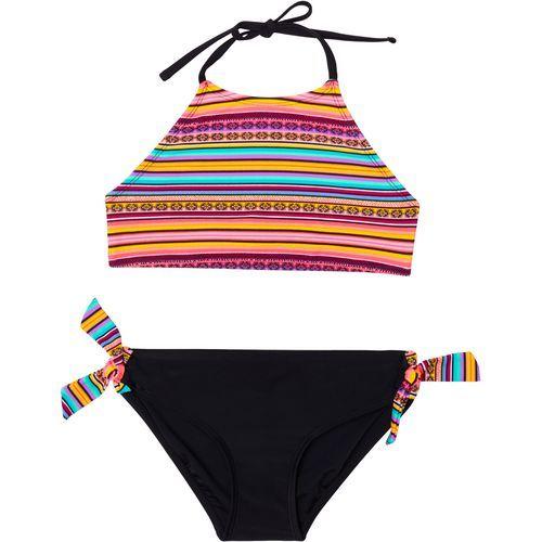 02e6757ed7d O'Rageous Girls' Fiesta Stripe 2-Piece Bikini (Multi, Size 14 Youth) -  Youth Swim, Girl's Swim at Academy Sports