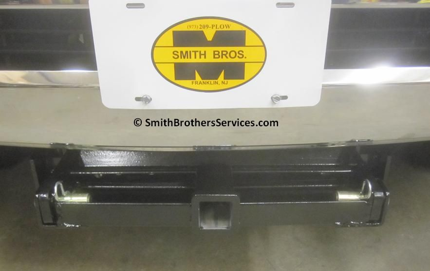 Custom Fabricated Front Receiver Hitch for Cooler Rack on