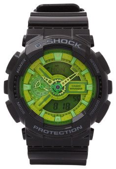 G-Shock Watch GA-110B-1A3DR | This G-Shock GA-110B-1A3 Watch from Casio will make a stunning piece for your casual ensembles. It features a brightly colored strap with distinctive face designs.  Get a 15% discount with this voucher code: ZBAPQF5I