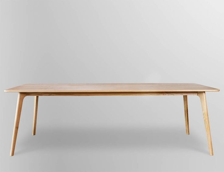 Retro Scandinavian Oak Dining Table