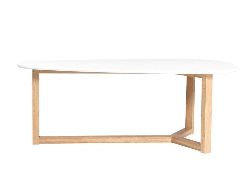 Tourdissant table basse ovale bois pas cher d coration - Table ovale pas cher ...