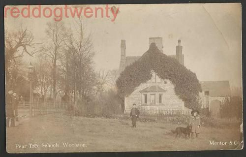 SOUTHAMPTON Woolston Pear Tree Schools RP postcard 1905 | eBay