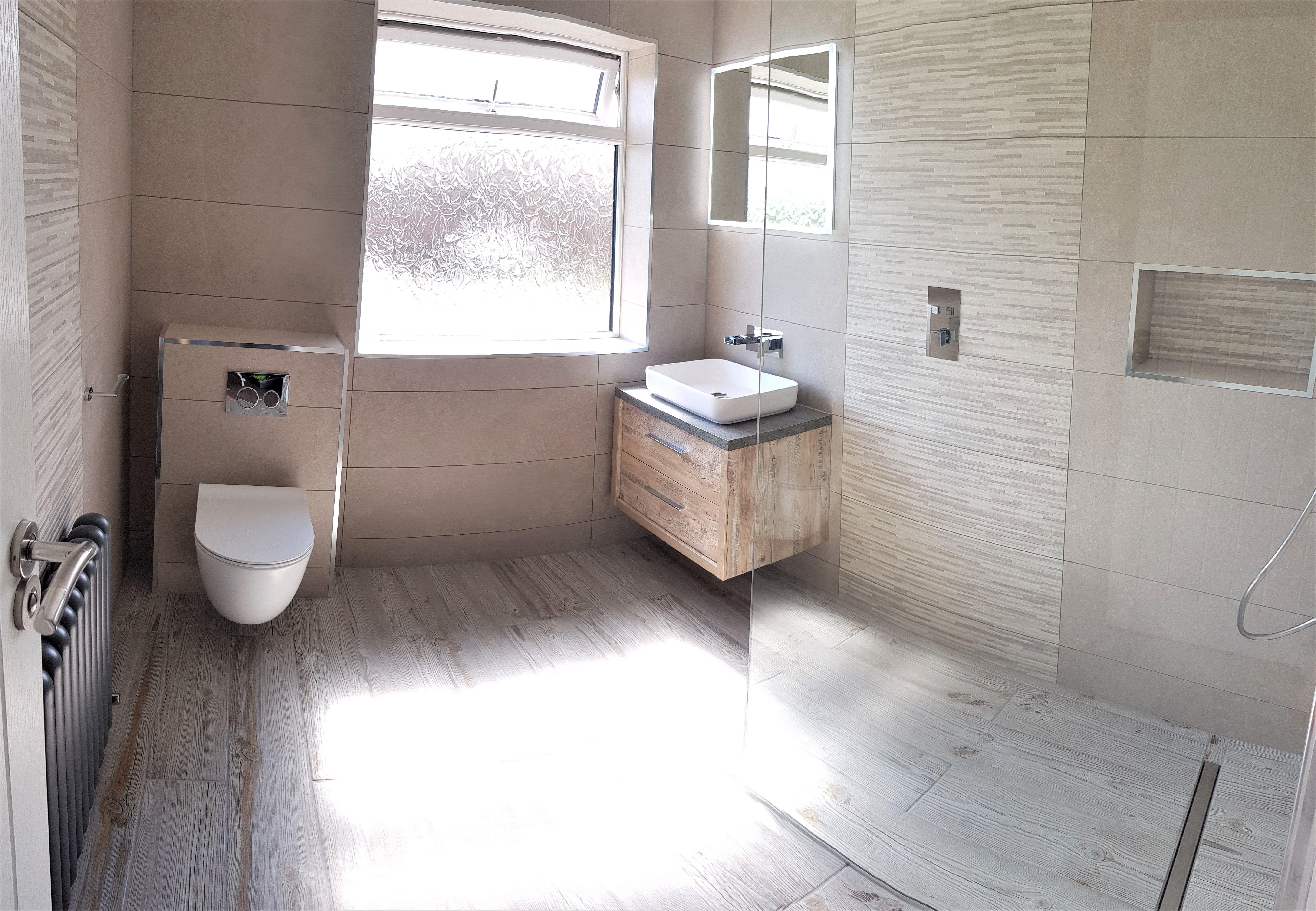Mirfield Wet Room Wet Rooms Complete Bathroom Renovations Wall Hung Toilet
