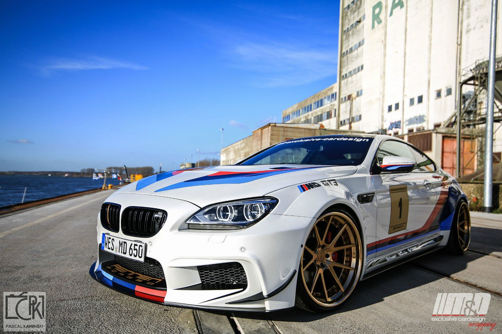 2011 Bmw 650i Coupe 6er F13 M6 Gt3 Widebody 21 Rennen Forged
