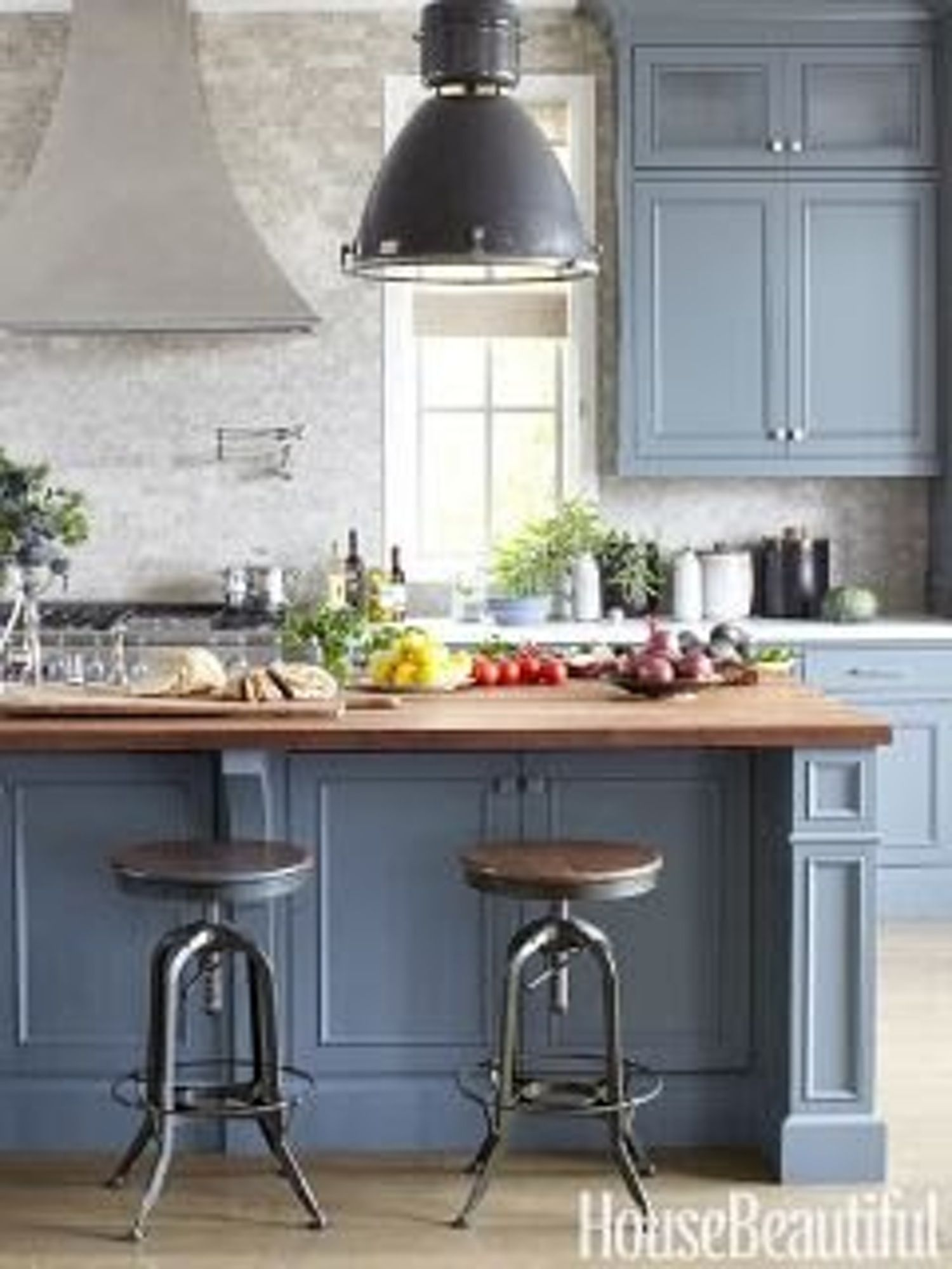 the perfect shade of blue for a kitchen blue gray kitchen cabinets grey kitchen cabinets on kitchen cabinets blue id=71122