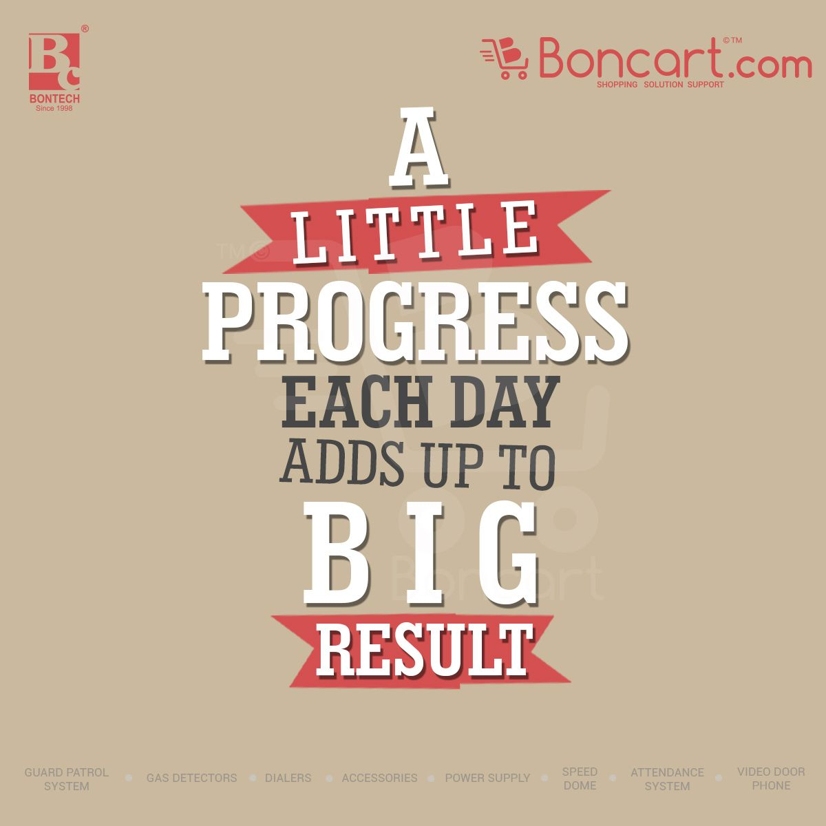 Inspirational Day Quotes: A Little Progress Each Day Adds Up To Big Result