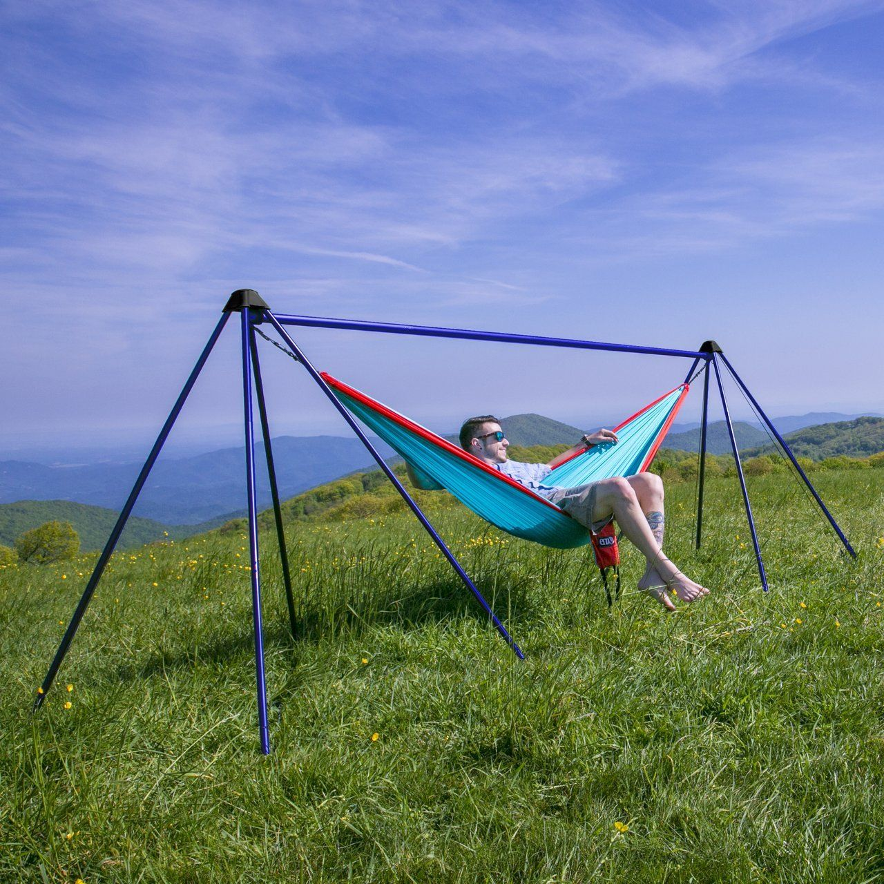 Portable hammock stand - Nomad Portable Hammock Stand