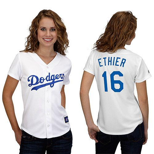 Los Angeles Dodgers Andre Ethier Women's Player Replica