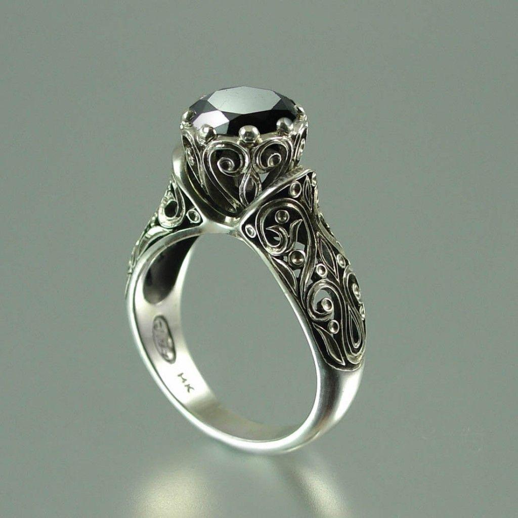 Black Diamond Wedding Rings South Africa Black Diamond Ring Engagement Black Diamond Wedding Rings Princess Black Diamond
