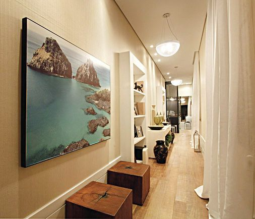 En la decoración pasillos y recibidores es imprescindible una