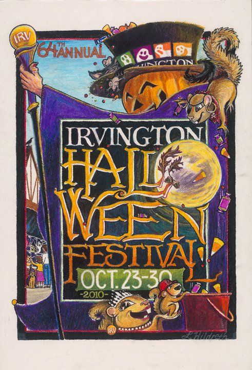 2010 festival poster contest winner the historic irvington halloween festival indianapolis indiana - Halloween Indiana