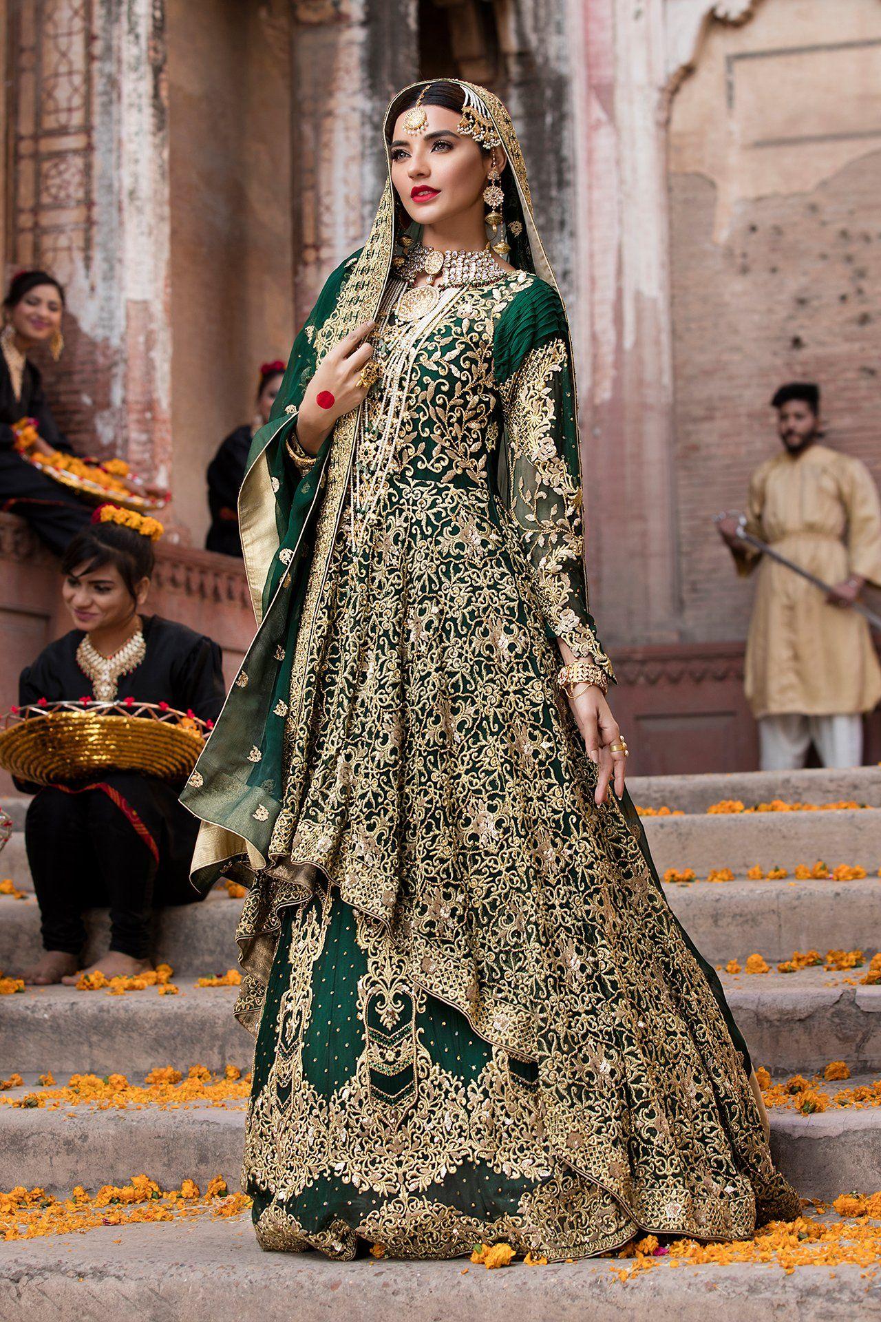 ad19a9ddddd Emb Royal - Royal Emerald Desi Wedding Dresses