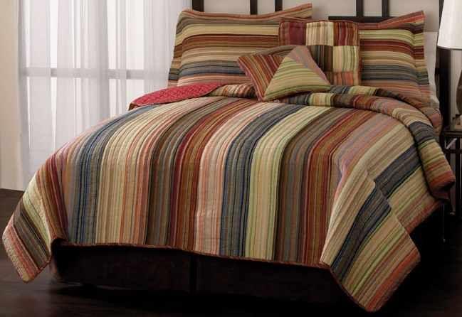Retro Chic Bedding Spice Colored, Earth Tone Bedding Collections