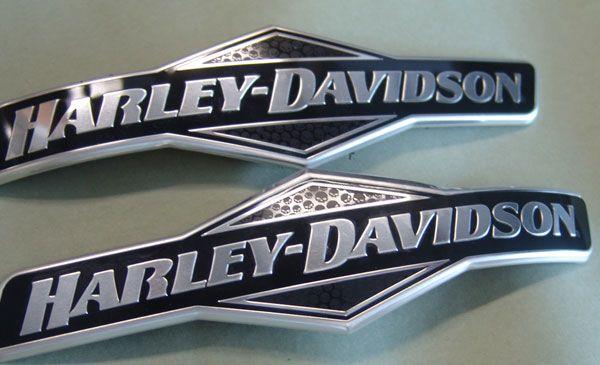 Harley Davidson Tank Emblems Medallions For Sale Attitude Harley Davidson Harley Davidson