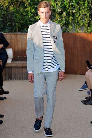 c/o Style.com - Tommy Hilfiger Spring 2013 Men's Collection #TOMMYSP13 #NYFW #Spring13 #newyorkfashionweek