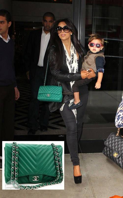 7394b20e86a3 green chanel bag to die for!