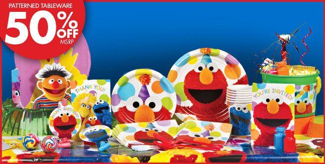 Elmo Party Supplies Elmo Birthday Party Party City Sesame Street Party Supplies Elmo Party Supplies Sesame Street Party