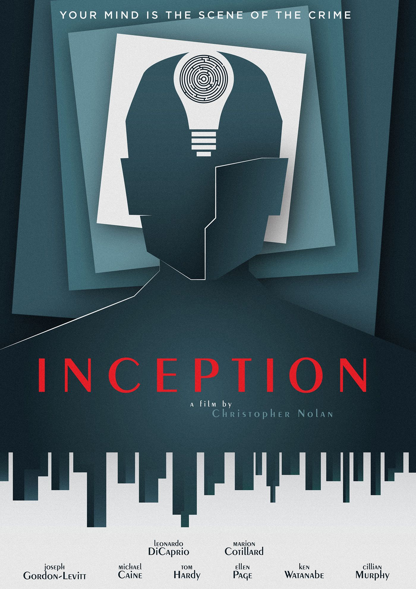 inception movie poster hd