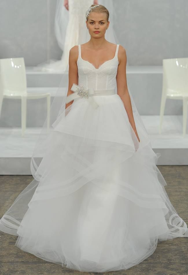 Monique Lhuillier Wedding Dresses Spring 2015 | Wedding reception ...