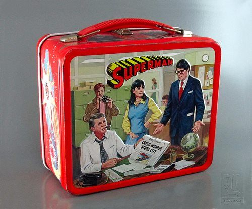Superman (1978) Lunch Box.