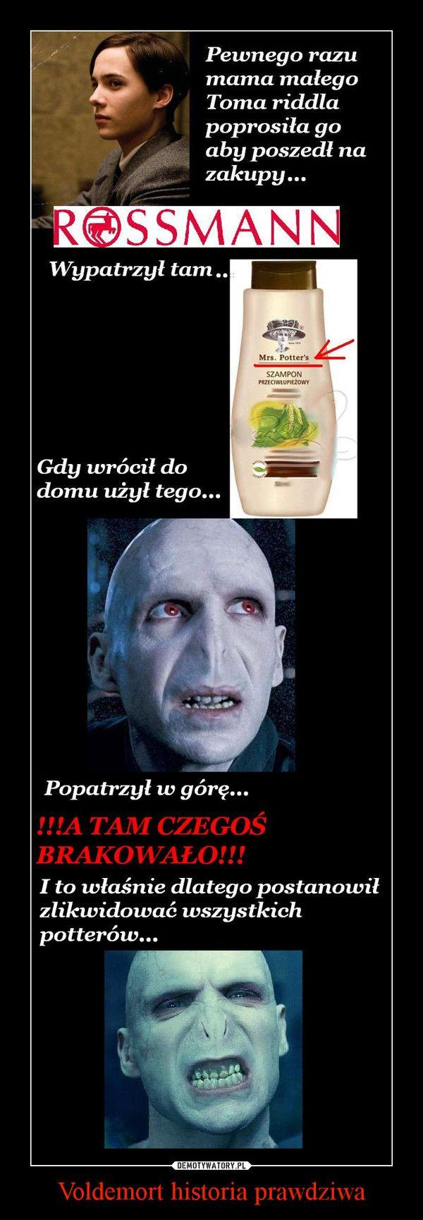Voldemort historia prawdziwa –