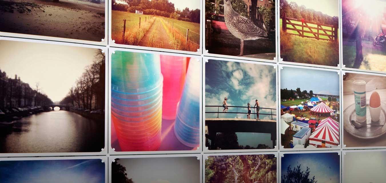 IXXI i love it!! muurdecoratie wanddecoratie fotocollage instagram ...