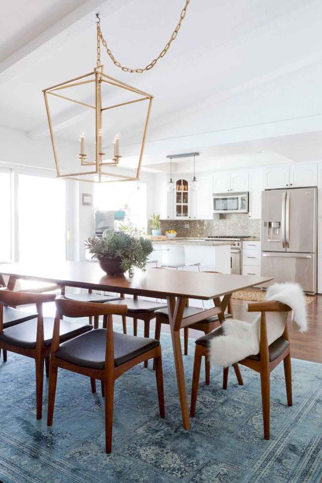 65 Beautiful Mid Century Dining Room Design Ideas Mid