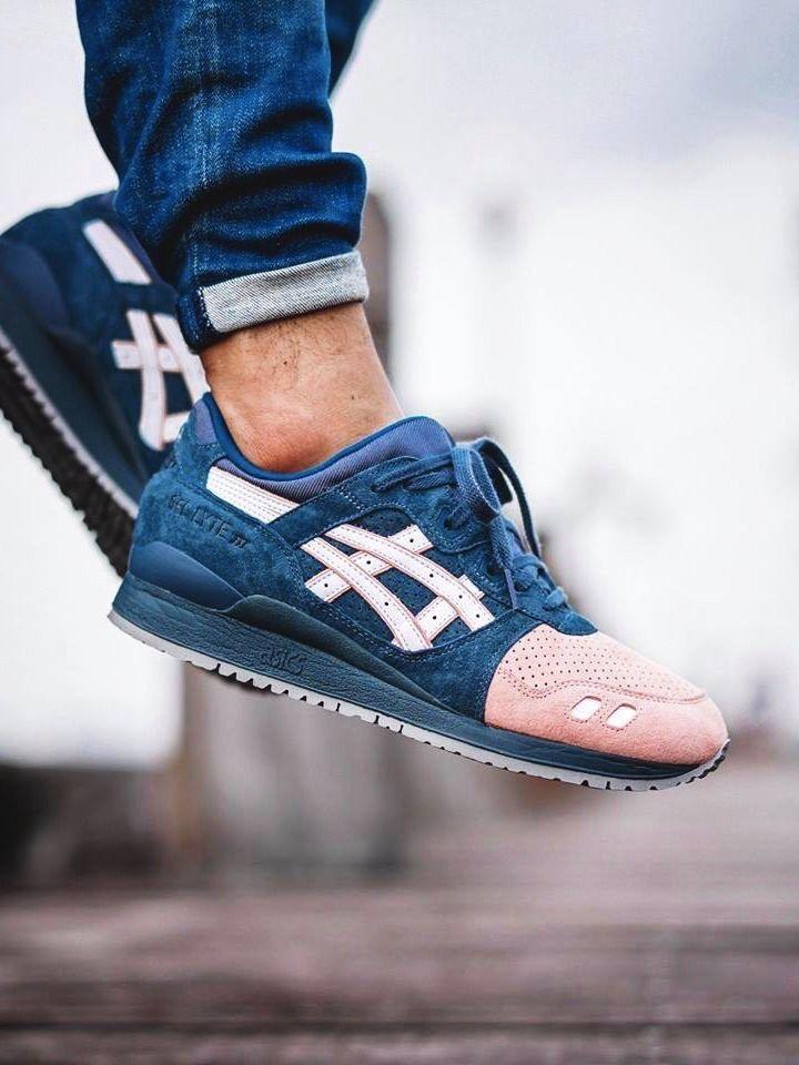 purchase cheap a64d2 6f2d4 Asics Gel Lyte III Salmon Toe 2.0 (by one man army.07)  sneakers   sneakernews  StreetStyle  Kicks  adidas  nike  vans  newbalance  puma   ADIDAS  ASICS ...